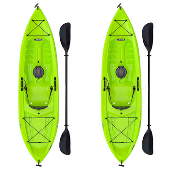 Lifetime Tioga Sit-on-top Kayak With Paddle (2 Pack)