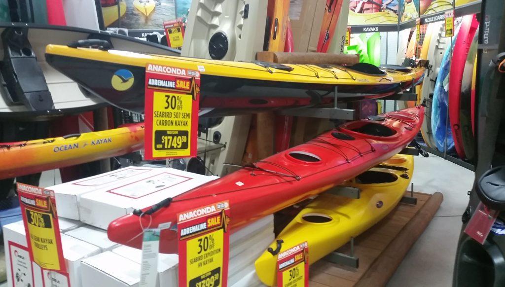 Process of choosing a best fishing kayak