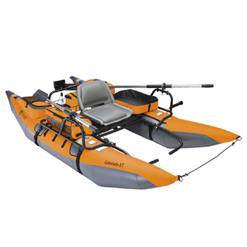 Classic Accessories Colorado Inflatable XT Pontoon Motorized Boat