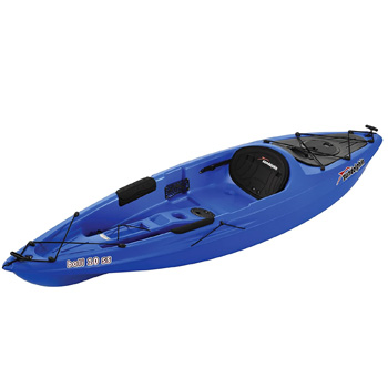 Sun Dolphin Bali SS 10-Foot Sit-On Fishing Kayak